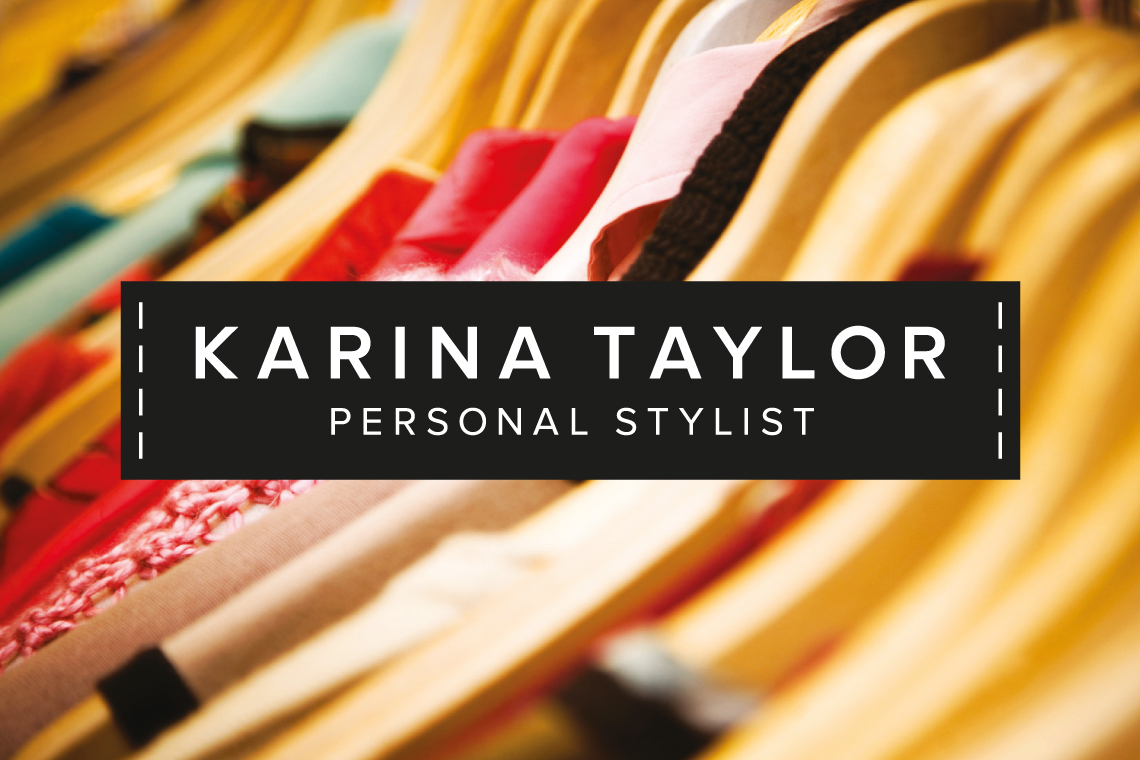 Karina Taylor Personal Stylist brand identity design