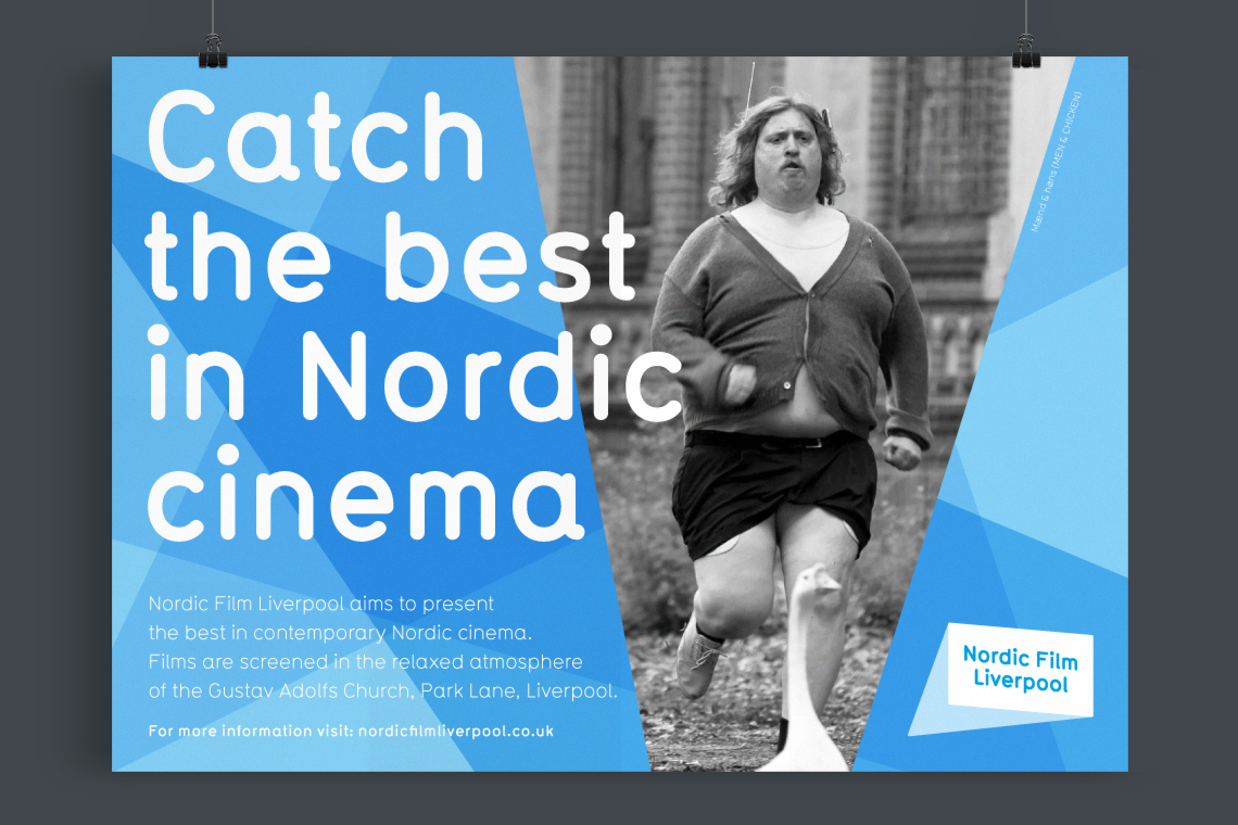 Nordic Film Liverpool poster design