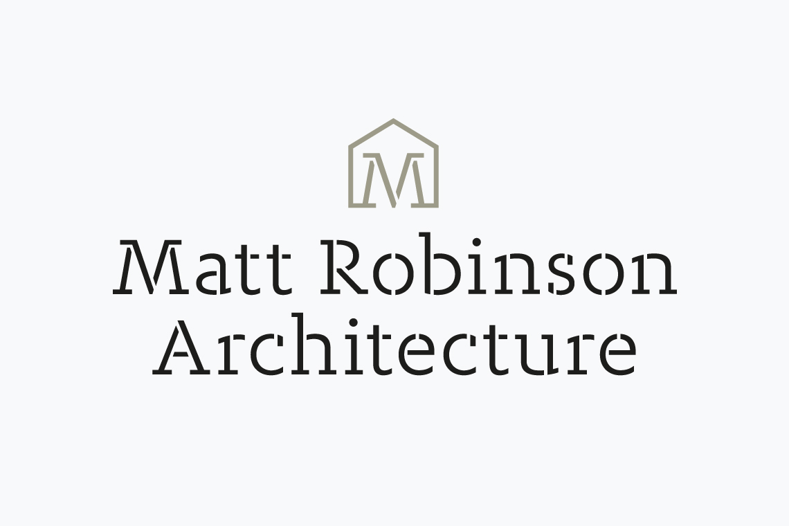 Matt Robinson Architecture logo design