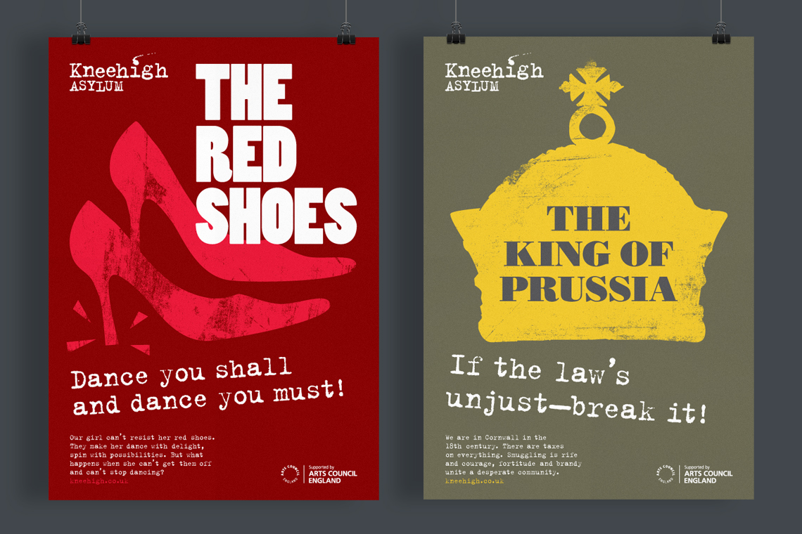 Kneehigh Theatre poster designs